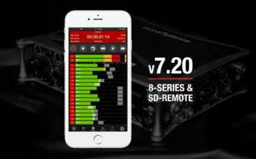 Sound Devices 7.20 Firmware Update for 8-Series Mixer-Recorders