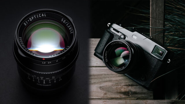 TTArtisan 50mm f/1.2