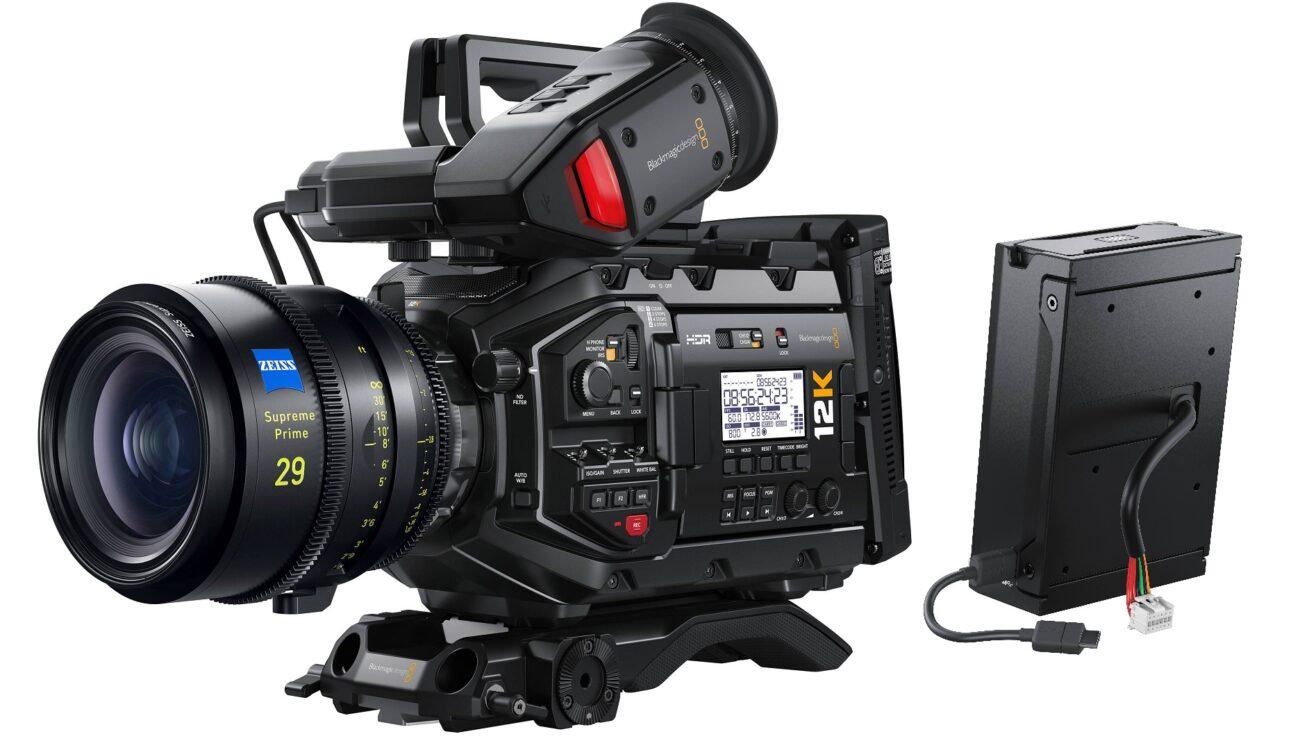 Lanzaron la actualización Blackmagic Camera 7.2 para la URSA Mini Pro 12K