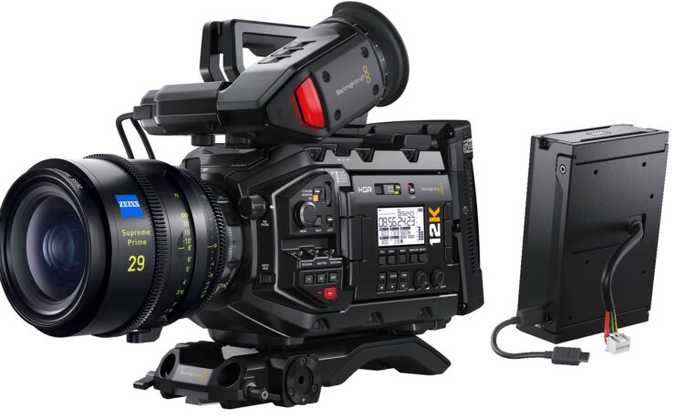 Blackmagic Camera 7.2 Update for URSA Mini Pro 12K Released