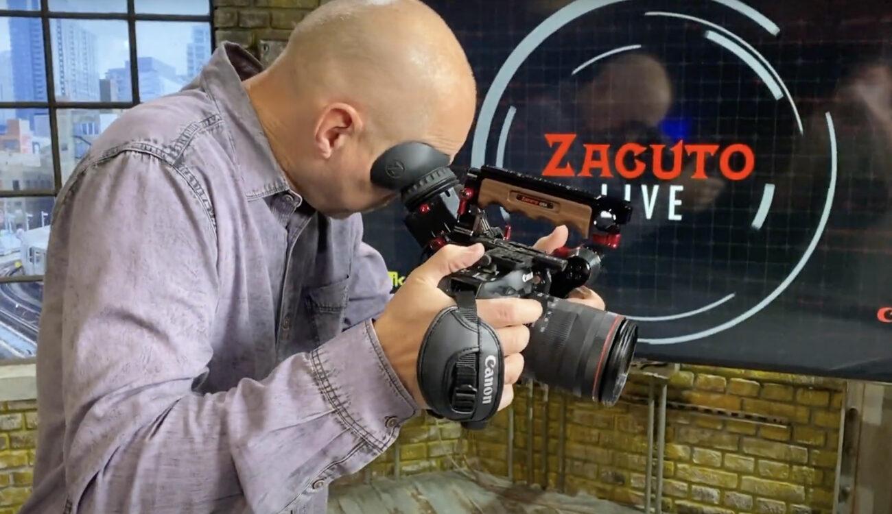 ZacutoがキヤノンEOS C70用ケージとZ-Finderを発表
