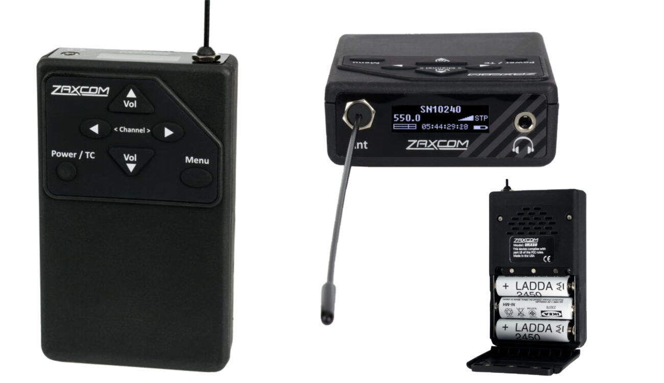 Zaxcom URX50 UHF IFB Audio Receiver Introduced