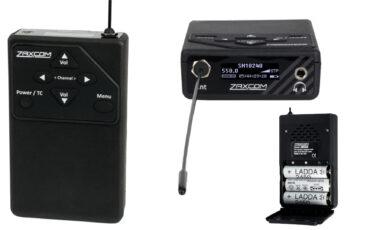 Presentaron el receptor de audio UHF IFB Zaxcom URX50