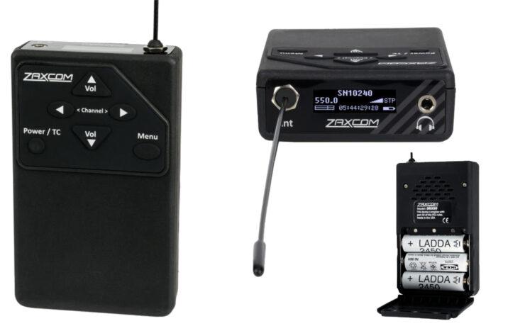 Zaxcom URX50 UHF IFB Audio Receiver Introduced