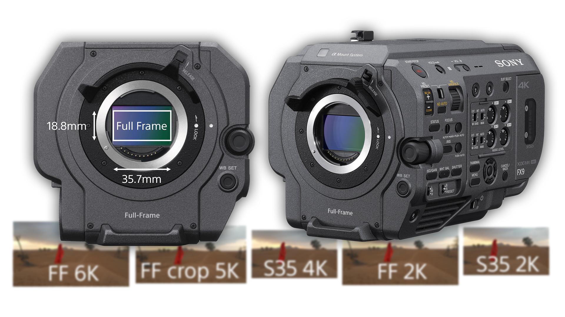 ソニーFX9のセンサースキャンモード