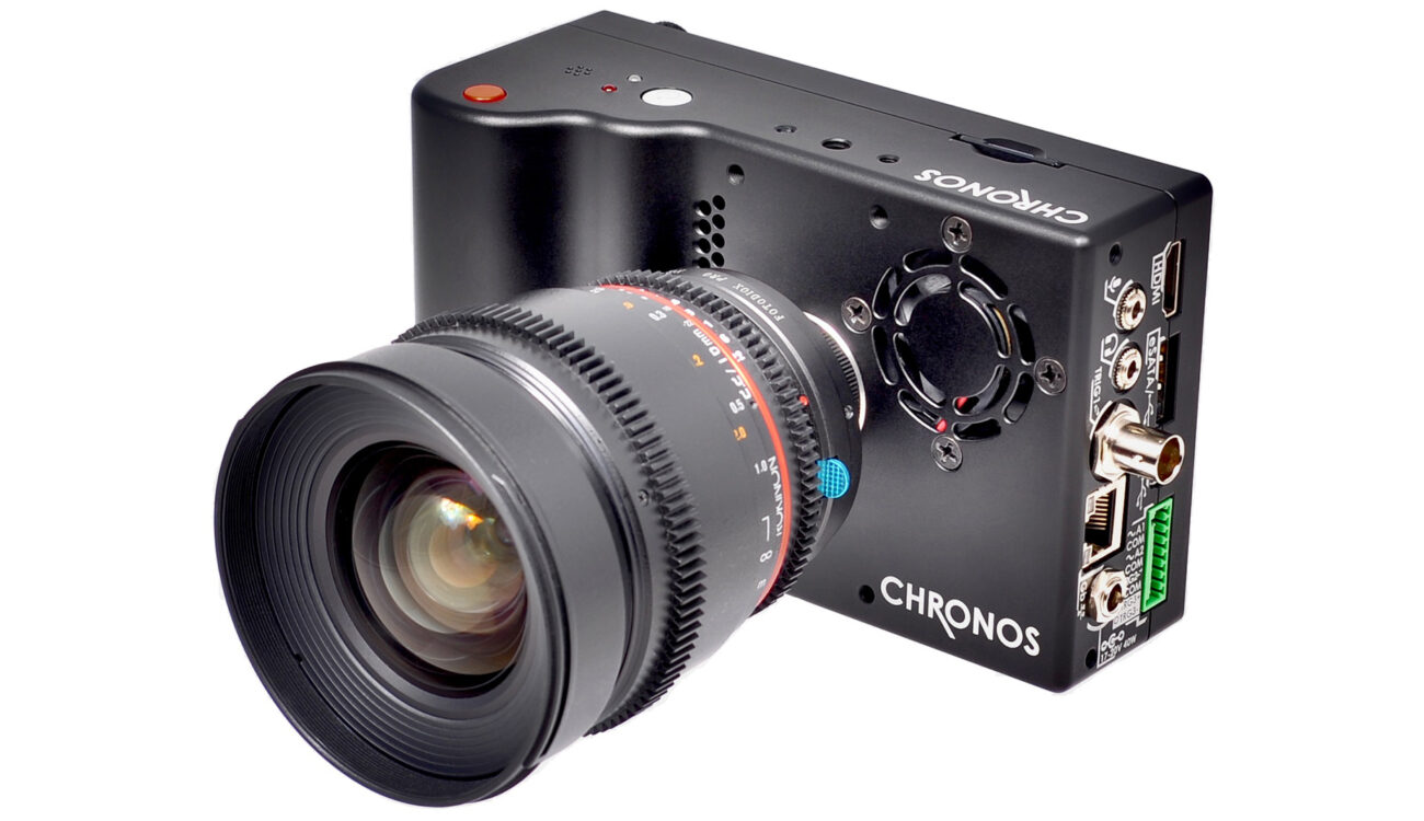 Chronos High Speed Camera — 1000 fps in HD