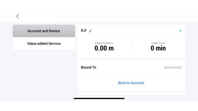 DJI Care Refresh - Make Account Connection (Credits: DJI)