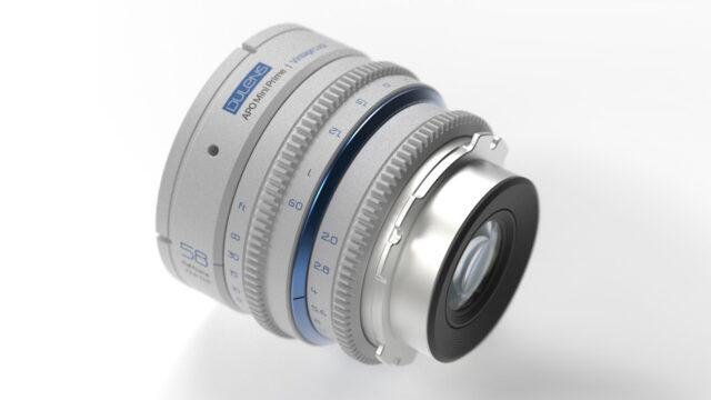 Dulens APO Mini Prime 58mm Vintage Lens - Back View (Credits: Dulens)