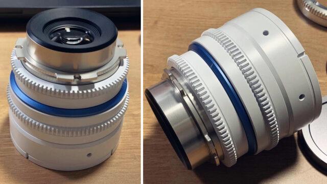 Dulens APO Mini Prime Vintage Lens - Construction Model (Credits: Dulens)
