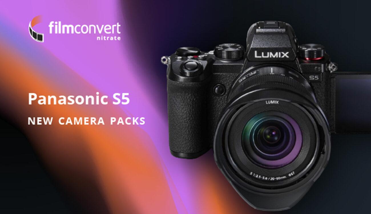 FilmConvertがパナソニックLUMIX S5用のピクチャープロファイルをリリース