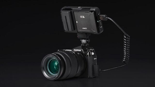 Fujifilm GFX100S andAtomos Ninja V