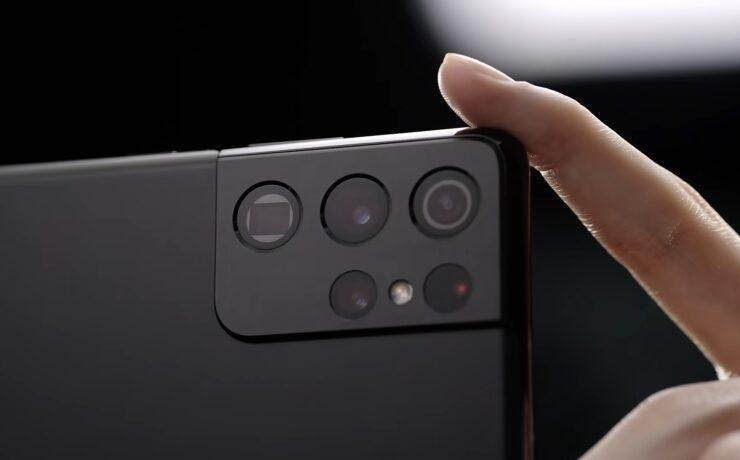 Samsung Galaxy S21 Ultra - Five Cameras, 8K Video, 10x Optical Zoom