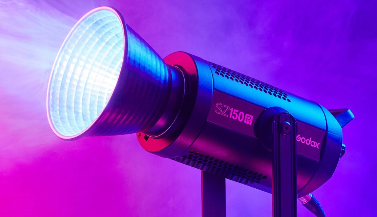 Godox SZ150R – Nueva luz COB RGB con zoom