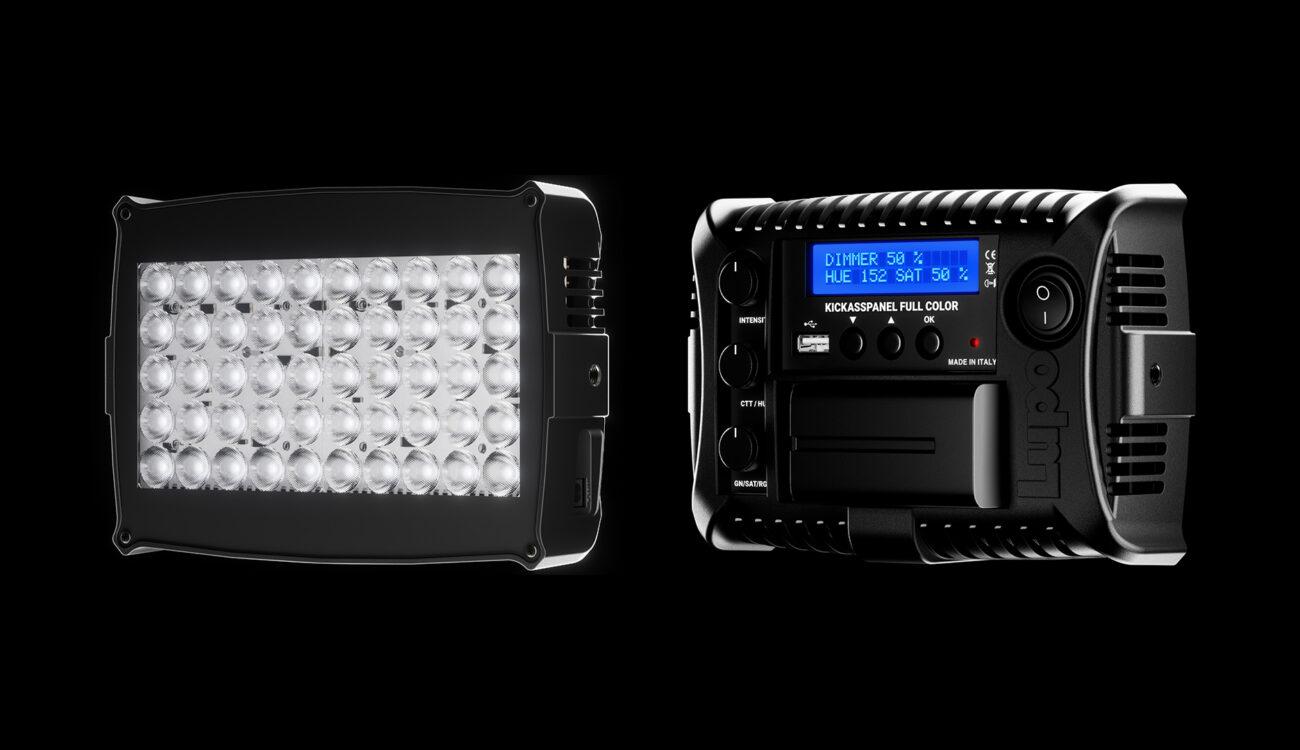 Lanzan la luz LED de cámara Lupo Kickasspanel RGBWW