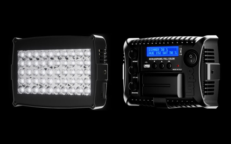 Lupo Kickasspanel RGBWW On-Camera LED Light Launched