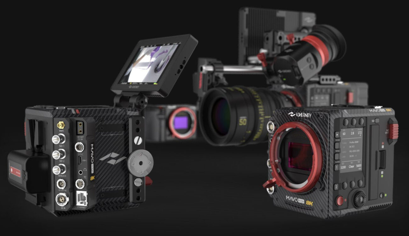 Kinefinity MAVO Edgeの出荷状況