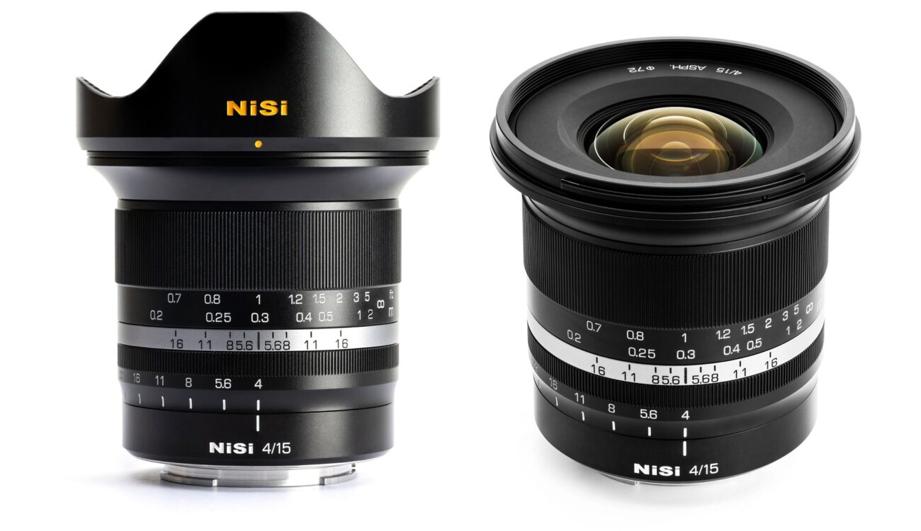 Anunciaron el lente NiSi 15mm f/4 Sunstar para cámaras mirrorless full-frame