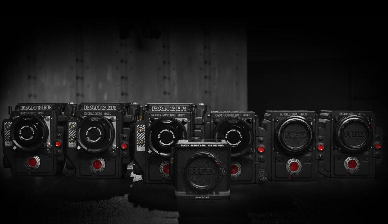Sitio web RED Arsenal: Elige tu cámara perfecta