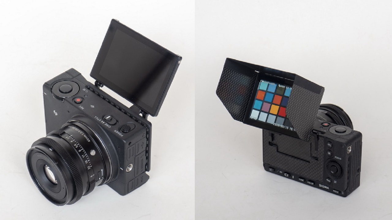 SIGMA fp Flip Screen Modification Kit