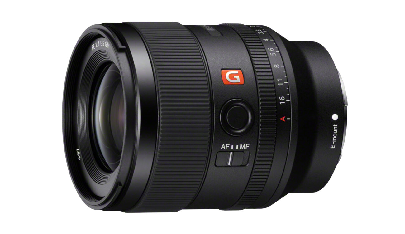 Sony FE 35mm F1.4 GM Prime Lens Announced