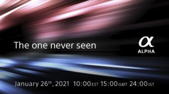 New Sony Alpha Camera Announcement