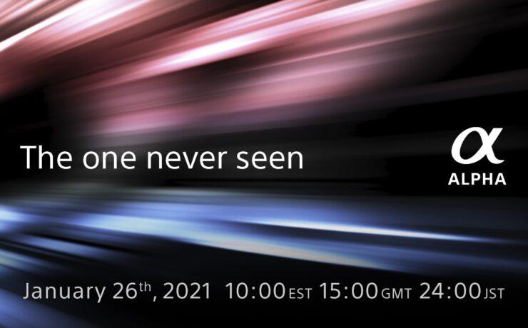 New Sony Alpha Camera Announcement