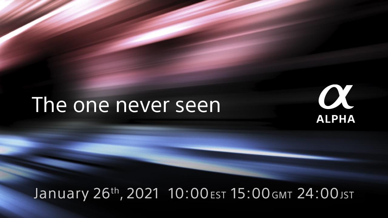 Anuncian una nueva cámara Sony Alpha