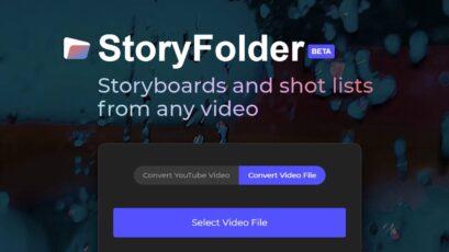 StoryFolder - ビデオを自動的にストーリーボードに変換