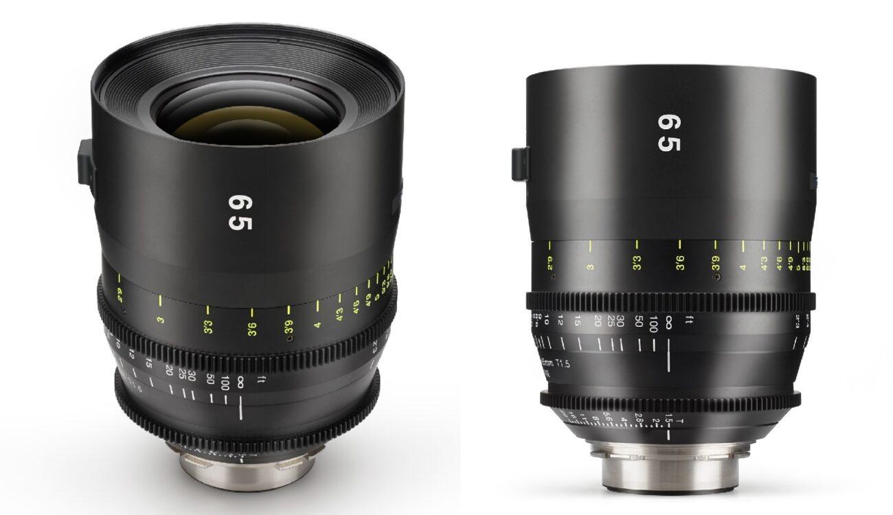 トキナーがCinema Vista 65mm T1.5レンズをリリース