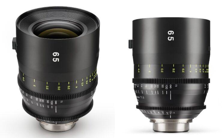 Tokina Cinema Vista 65mm T1.5 Lens Released