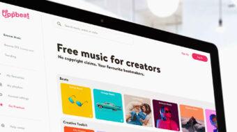 Lanzan Uppbeat – música gratuita para YouTubers y creadores de contenido