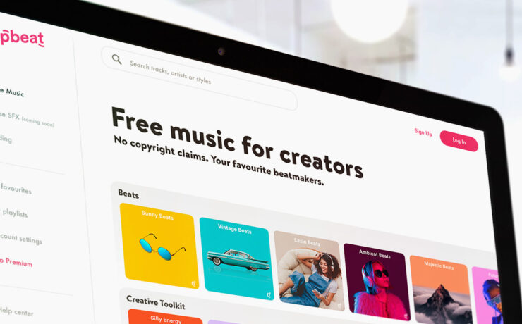 Uppbeat Launched - Free Music for YouTubers and Content Creators