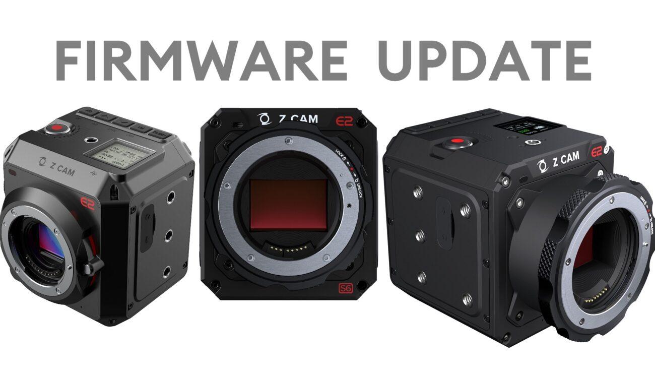 Las cámaras Z CAM E2 obtienen ProRes 422 para todos los modos mediante el firmware 0.98.0