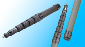 "K-Tek ""Mighty Boom"" –  Lightweight Graphite Poles Introduced"