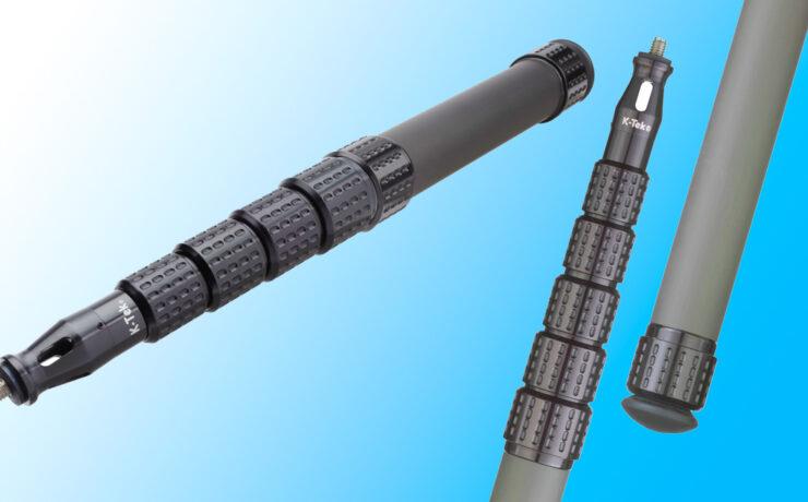"K-Tek ""Mighty Boom"" –  Lightweight Graphite Poles Introduced"