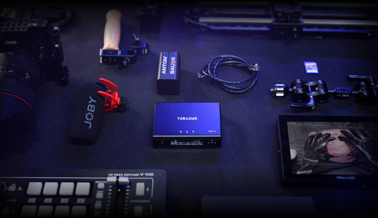 Lanzan el Teradek Vidiu-X - Codificador HD HDMI compacto