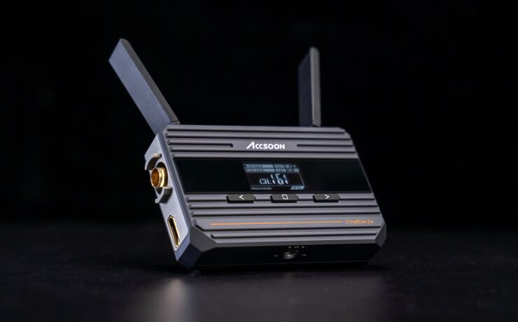 Accsoon CineEye 2S - Affordable SDI Wireless Video Transmitter