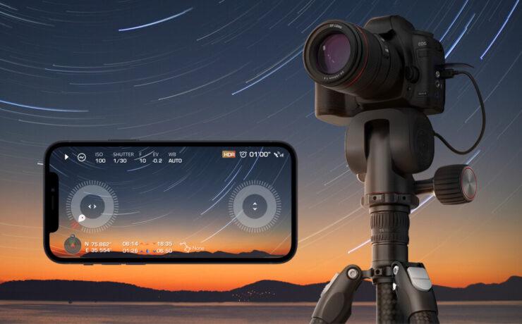 Benro Polaris – Electric Tripod Head With Camera Control