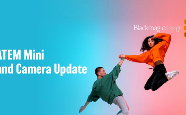 Blackmagic Design ATEM Mini and Camera Update Coming on Wednesday