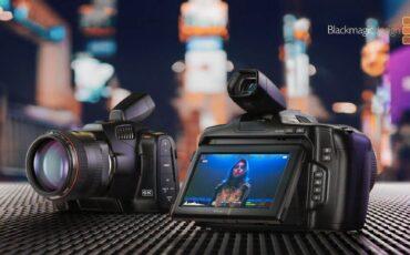 Anuncian la Blackmagic Pocket Cinema Camera 6K Pro con ND incorporados y pantalla inclinable, más un EVF opcional