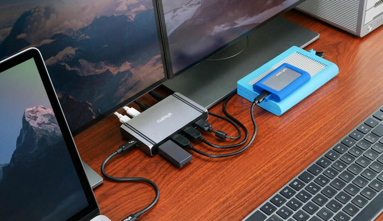 Lanzan la estación CalDigit Element Hub – Thunderbolt 4 y Dock USB 4