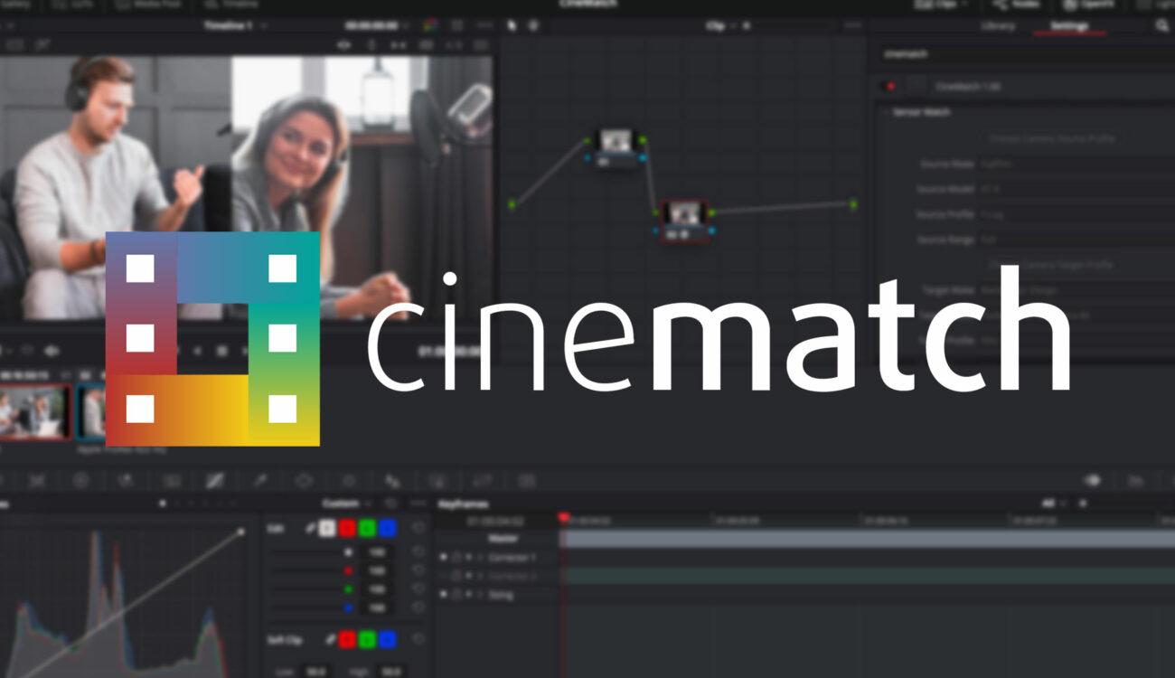CineMatch v1.04 for Premiere Pro and DaVinci Resolve Released