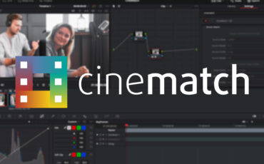 Lanzan la versión 1.04 de CineMatch para Premiere Pro y DaVinci Resolve