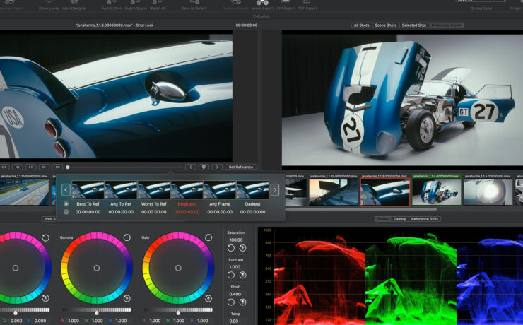 Colourlab Ai Releases v1.2 of its Software for Color Grading with AI