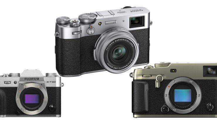 FUJIFILM X100V Firmware Update - Built-in ND Filter for Video