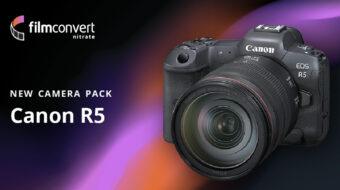 FilmConvertがキヤノンEOS R5用プロファイルをリリース
