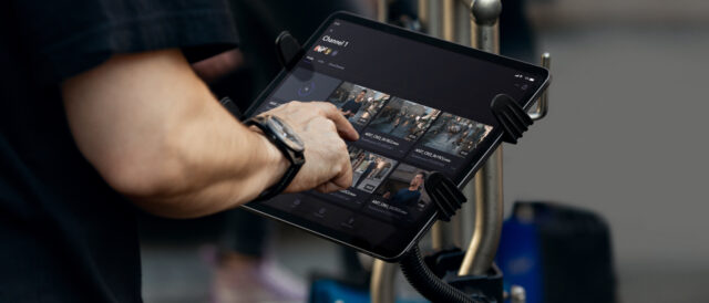 Frame.io on an iPad