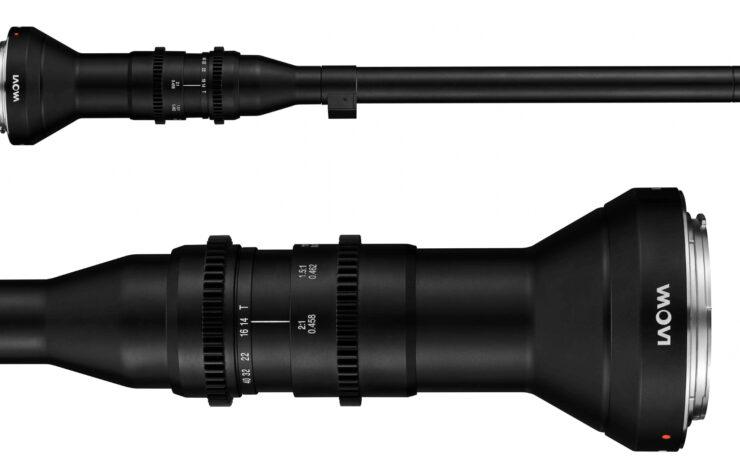 Laowa 24mm F14 2X Macro Probe – Sony FE Cine Version Released