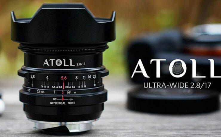 Lomography Atoll 17mm F/2.8 Lens - Live on Kickstarter