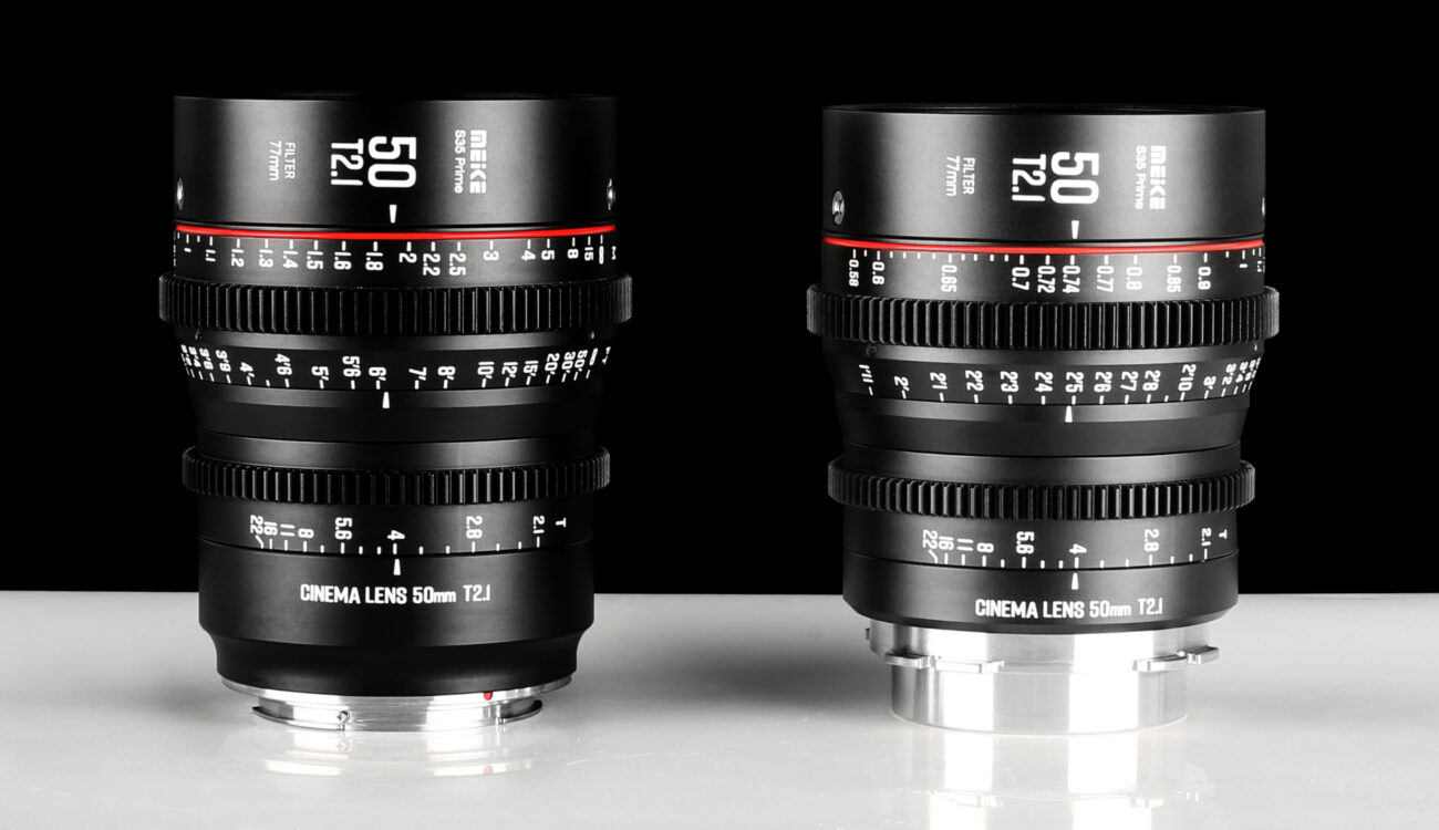 Meike 50mm T2.1 s35 Cine Prime Announced – for EF or PL Mount